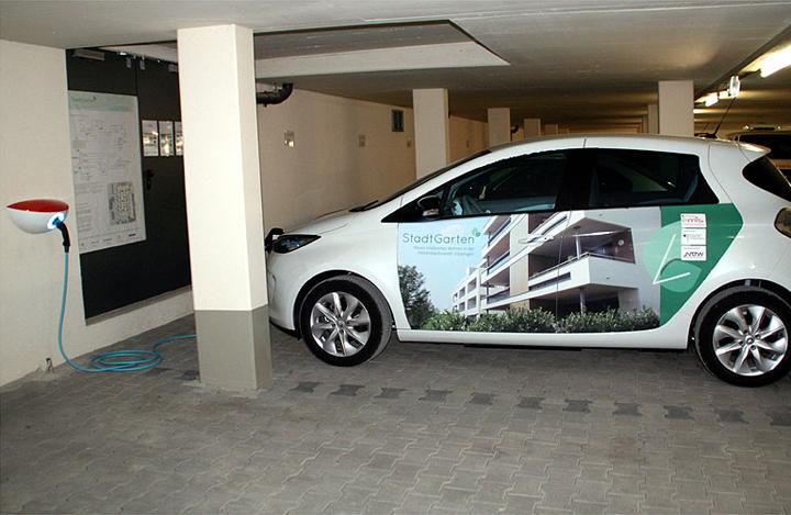 E carsharing im wohnquartier stadtgarten elektromobilit t - Stadtgarten hamburg ...
